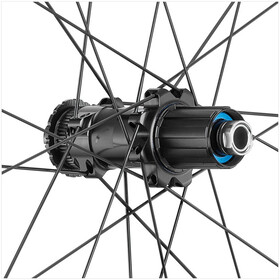 "Fulcrum Wind 40 DB Racefiets Wielset 28"" HG 8-11-speed Clincher TL, zwart"